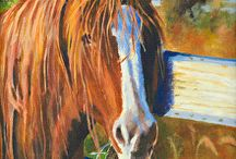Equine Paintings by Nancee Jean Busse / Equine Paintings by Nancee Jean Busse