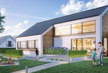 Passief huis / BONGERS architecten heeft een samenwerking met Procyon. Er zijn een 10-tal ontwerpen die allemaal passief zijn.