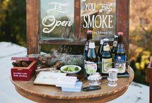 Wedding Cigar Table