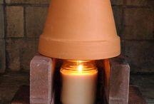 Engenhoca para o inverno Dicas e DIY, inverno, pot heater, winter