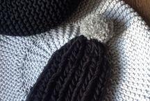 #WINTERbeanies / 100% wool HANDMADE