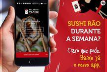 Novidades do Delivery Sushi Rão / Acompanhe aqui todas as novidades do seu Delivery de Sushi Favorito!