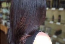 Bruine Kleurtinten / Allemaal verschillende bruine haarkleuringen