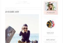 BLOG DESIGN / Blog and article website designs.