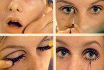 60 luvun meikki
