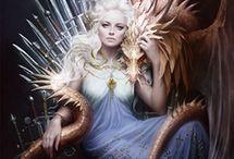 House Targaryen of Dragonstone / Fire and blood!