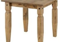 Dining Table / Our furniture will look great in any living room with its old county feel look.