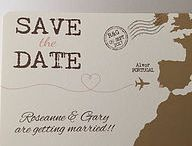 Destination weddings/ weddings abroad / Passports, boarding cards and luggage tags