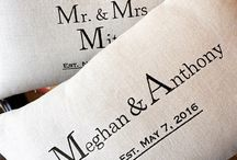 Custom Union Pillows for Wedding Gifts at Dream Weaver