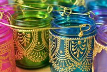 Jars for Any Event / Fun holiday decor involving mason jars!  Memorial Day and July 4th are just a couple of holidays found here.