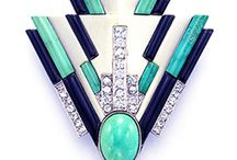 art deco jewellery