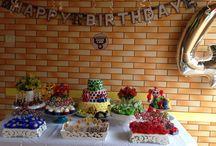 My parties, cakes and desserts / Festas que eu fiz para meu filho, amigos e família!