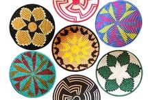 плетеные тарелки
