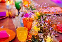 Oriental table settings
