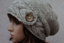 knitted ladies hats