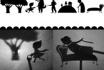 teatro de sombras y mesa de luz