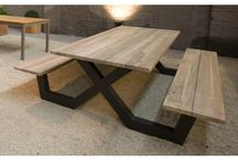 Benches and table Towns