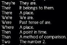 Grammar / by Domenica Soroka