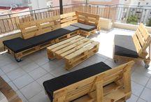 Muebles con palets / Háztelo tu mismo y que le den por el ano al IKEA