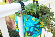 Hanging Fence Planters