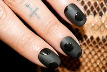 Mad About Matte / We absolutely adore these matte-finished lips and nails!