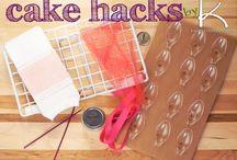 Cake Hacks / Things that make caking easier
