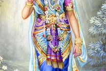 SRIMATI RADHARANI / Srimati Radharani is the Supreme Goddess. She is most always seen with Lord Krishna. It is described that She is the chief associate and devotee of Lord Krishna, and topmost of all goddesses. Her name means that She is the most excellent worshiper of Lord Krishna.