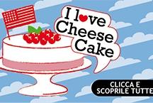 I love CHEESE CAKES! / Cheesecake: ricette con cioccolato, ricotta, frutti di bosco. Le migliori ricette di cheesecake di Valle' e di alcune delle migliori food blogger italiane. Questa torta si può preparare con molti ingredienti: con cioccolato, ricotta, frutti di bosco, marmellata, fragole. Tu quale preferisci?