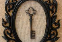 Quadros com chaves