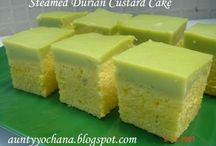 Durian Steam cake