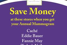 Save Money When You Get Your Annual Mammogram! / Become an IMatter member and save money at these local businesses.