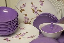 Melmac Attack  / I love melamine and melmac and mid century modern plastic dinnerware. Read a lot more on http://RetroChalet.blogspot.com or http://MelmacCentral.com
