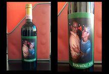 Vini personalizzati / Rendi il tuo vino unico con un'etichetta personalizzata.