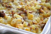 Breakfast casserole  / by Heather Kipper O'Brien