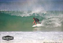 Postcards / Postkarten unserer Teamrider  Gibt's als Beigabe bei jeder Bestellung im Buster Surfboards Onlineshop.