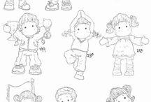 Wzory, rysunki