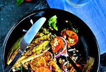 Super Salads & Veggie Sides / All the beautiful veggies that are tossed, roasted, sauteed or served raw and taste divine!