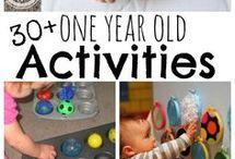 actividades bebé 1 ano