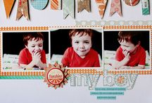 Scrapbook pages / page ideas