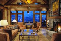 Decorating Cabin Style Ideas / by Jody Blair