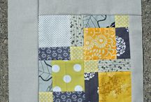 Gray and Yellow / Gray and yellow textile and pattern combinations