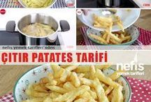 Çıtır patates kızartması