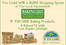 Baking Clean, Baking Green Sweekstakes / Win Free product and prizes from If You Care
