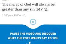 Faith / Pope's messages and teachings of the Faith