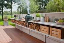 Outdoor fires/Kitchens