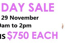 HUGE ONE DAY DESIGNER BRIDAL GOWN SALE / One day bridal gown sale - all gowns $750 INCL FREE VEIL!!! www.gorgeousgownsrus.com.au