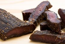 Biltong and Koeksisters Google it and other South African food / Recipes using Biltong. A South African staple. A version of Beef Jerky...but way yummier / by Sharon H