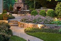 Stone Paver Walkways / Stone Paver Walkways and living areas.