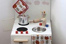 Projekt Kinderküche, Werkbank und Kaufmannsladen✊