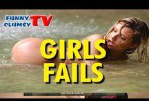 GIRLS FAILS / EPIC FUNNY BEST GIRLS FAILS